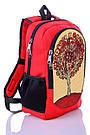 Рюкзак школьный, молодежный с принтом Дерево. , фото 2