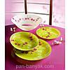 Kashima Green Сервиз столовый 19 предметов ударопрочное стекло Luminarc