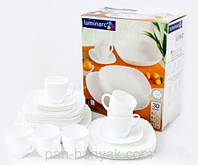 Сервиз столовый Luminarc Lotusia 30 предметов стеклокерамика (3902H)