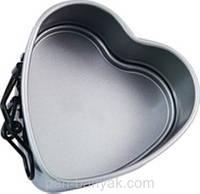 """Форма для вирізання печива Patisse """"серце"""" розбірна 2 штуки d12 см нержавійка (03691 P)"""