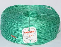 Верёвка полипропиленовая 200м MARMARA толщина 3.5мм
