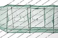 Раколовка 3.6 метра длинной. 11-ти секционная