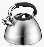 Чайник со свистком Petergoff  4,3л нержавейка (15583 PH)