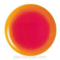 Тарелка обеденная Luminarc Fizz honey круглая без борта d25 см ударопрочное стекло (7250H)