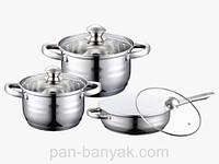Набор посуды Petergoff  6 предметов нержавейка (15719 PH)