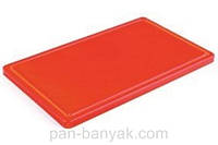 Доска кухонная Durplastics  красная 40х30 см h2 см пластик (9821RJ4)