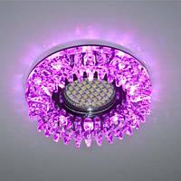 Точечный светильник круглый Feron CD2540 MR16 с LED подсветкой