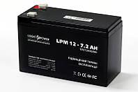 Аккумулятор Logicpower 12V 7.2AH, фото 1