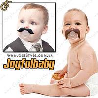 "Соска-пустышка с усами - ""Kids Mustache"" - Оригинал!, фото 1"