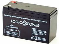 Аккумулятор Logicpower 12V 7.5AH, фото 1
