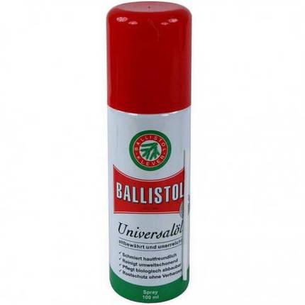 Оружейное масло. Средства по уходу за оружием. Масло оружейное Klever Ballistol Spray универсальное 100ml, фото 2