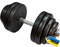 Гантель наборная Newt 31,5 кг