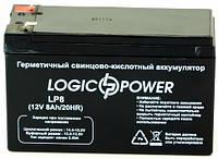 Аккумулятор Logicpower 8Ah 12V, фото 1