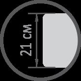 Матрас Relax Duo / Релакс Дуо ЕММ h21 Evolution 7 зон латекс + мемори независимые пружины 120кг, фото 3