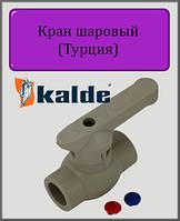 Кран Kalde 20 шаровый полипропилен, фото 1