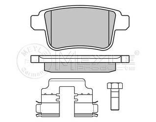 Тормозные колодки задние на Renault Kangoo II 08->  —  Meyle (Германия) - MY0252469216