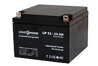 Аккумулятор Logicpower 12V 26Ah, фото 1
