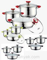 Набор посуды Petergoff  6 предметов нержавейка (15737 PH)