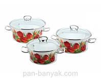 Набор посуды Epos Ласковый май 6 предметов емаль (№1000 Ласковый май)