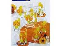 Marguerite Набор для воды (кувшин 1,6л+ стакани 270мл-6шт) 7 предметов стекло Luminarc