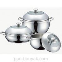 Набор посуды Petergoff  6 предметов нержавейка (15288 PH)
