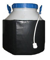 Декристаллизатор, роспуск мёда в пластиковой ёмкости 40л. Разогрев до + 40°С. ТМ Апитерм Украина