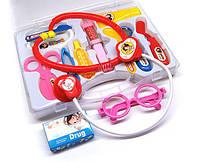 Детская игра Доктор набор 12 предметов