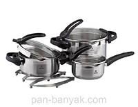 CookArt Набор посуды 7 предметов нержавейка Vinzer