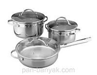 Набор посуды Vinzer Progressive 6 предметов нержавейка (89046OLD Vinzer)