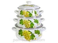 Набор посуды Керчь Сферические 6 предметов емаль (Лидия-1)