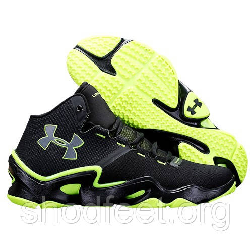 Мужские кроссовки UNDER ARMOUR SPEEDFORM PHENOM TRAINER black\green