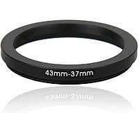 Знижуюче степ кільце 43-37мм для Canon, Nikon