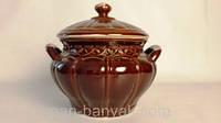 Гладка Супница с крышкой 3л керамика Терра-Караммаш