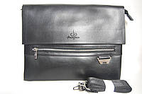 Стильная красивая мужская сумка LANGSA 868-6 под А4. Сумка планшет. Мужская сумка под А4. КС70