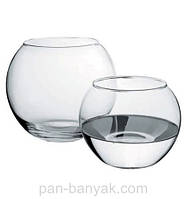 Flora Ваза аквариум 825мл d8,1 см h10,2 см стекло Pasabahce