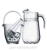 Sylvana Ведро для льда 830мл d12 см h13 см стекло Pasabahce