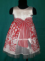 Детское платье из  шифона