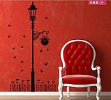 Интерьерная декоративная виниловая наклейка на стену Фонарь (653013), фото 2