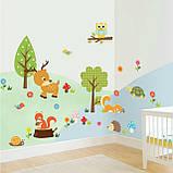 Интерьерная декоративная виниловая наклейка на стену Фонарь (653013), фото 4