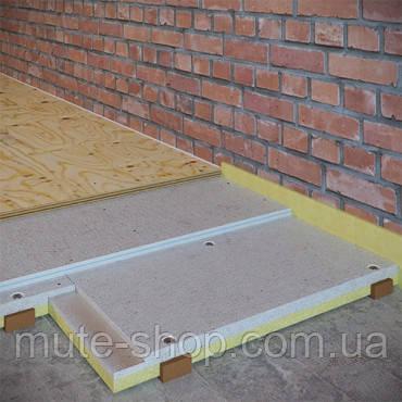 ЗИПС-ПОЛ Вектор, сэндвич-панель 1200х600х45 мм (0.72м²/ шт.)