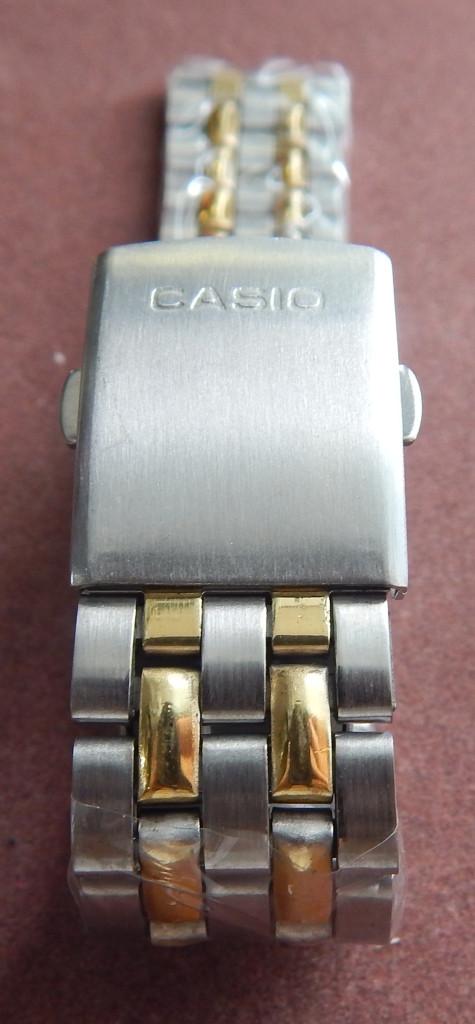 Браслет на часы метал 20 Gold-Silver