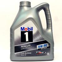 Масло моторное Mobil 1 Peak Life 5W-50 (4л.)