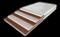 Односпальный матрас Cascade / Каскад 90х190 ЕММ h20 Evolution латекс + кокос беспружинный 140кг