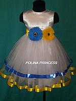 Детское платье для девочки в украинском стиле