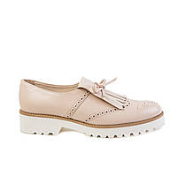 Туфли женские кожаные CRISTANI 1605 беж., фото 1