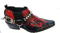 Казаки Etor мужские туфли лаковые оптом