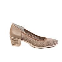 Туфли женские кожаные Velluto 073913, фото 1