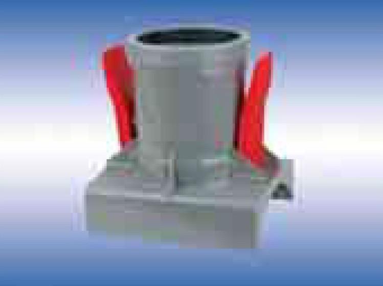 Патрубок седловой насадочный наружной канализации