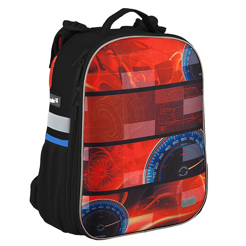 a129b7c1540c Рюкзак школьный Kite 2016 каркасный 531 Auto K16-531M-5 - Интернет-магазин