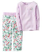 Пижама с флисовыми штанами Carters «Совушка»